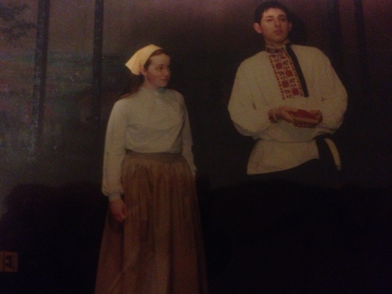 At age 17 (same stage) playing Chava in Fiddler on the Roof. One of my favorites!