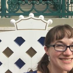 Royal chair at Port Orleans: RIverside