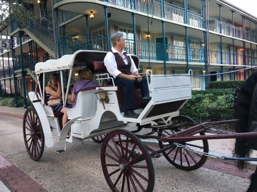 Horse-Drawn Carriage at Port Orleans: French Quarter