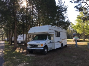 RV in nature, Florida Ross and Jamie Adventure