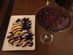 Dessert at Rodizio Grill, Fort Collins, CO | Ross and Jamie Adventure