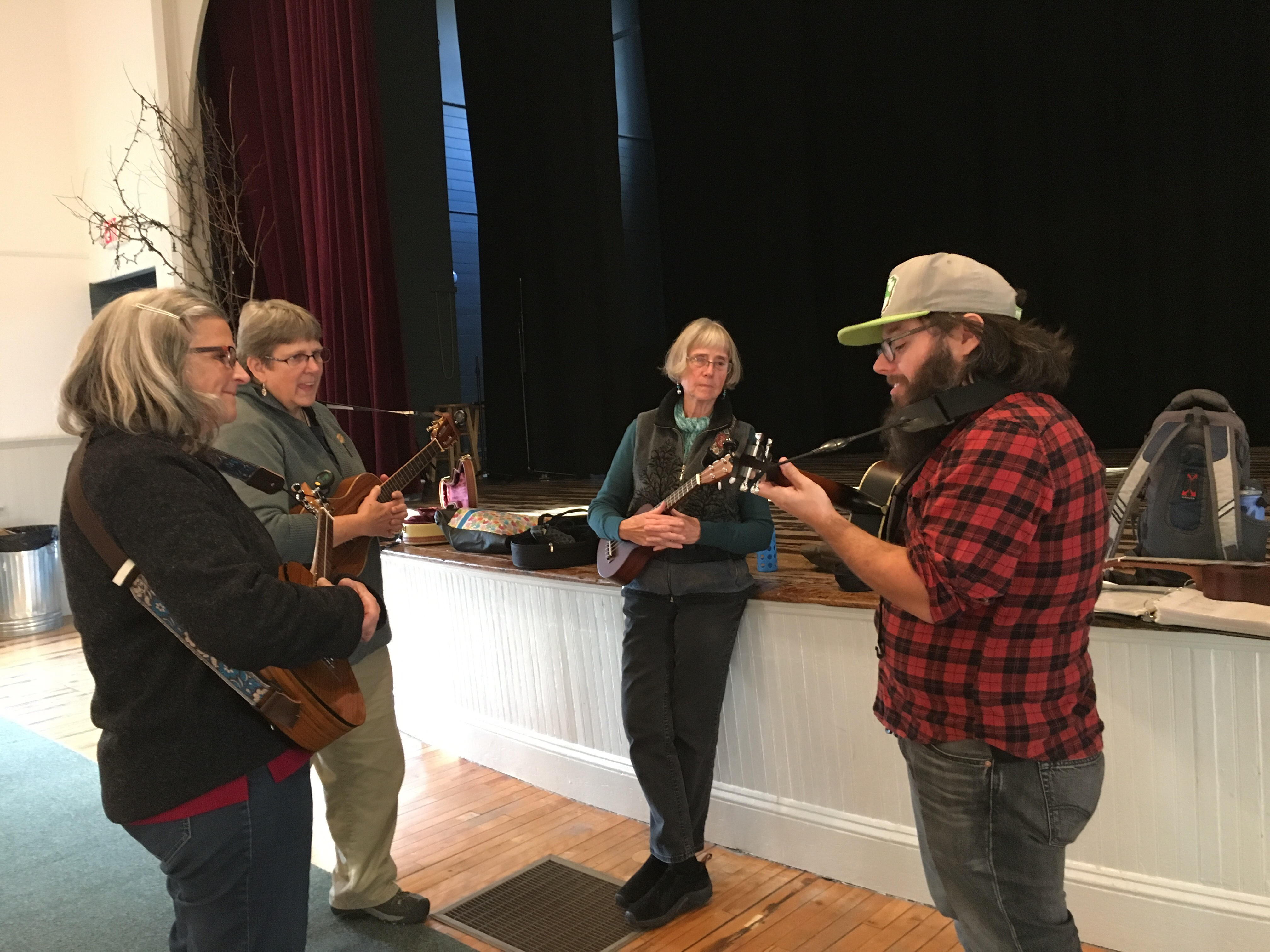 Ukulele class, New Hampshire | Ross and Jamie Adventure