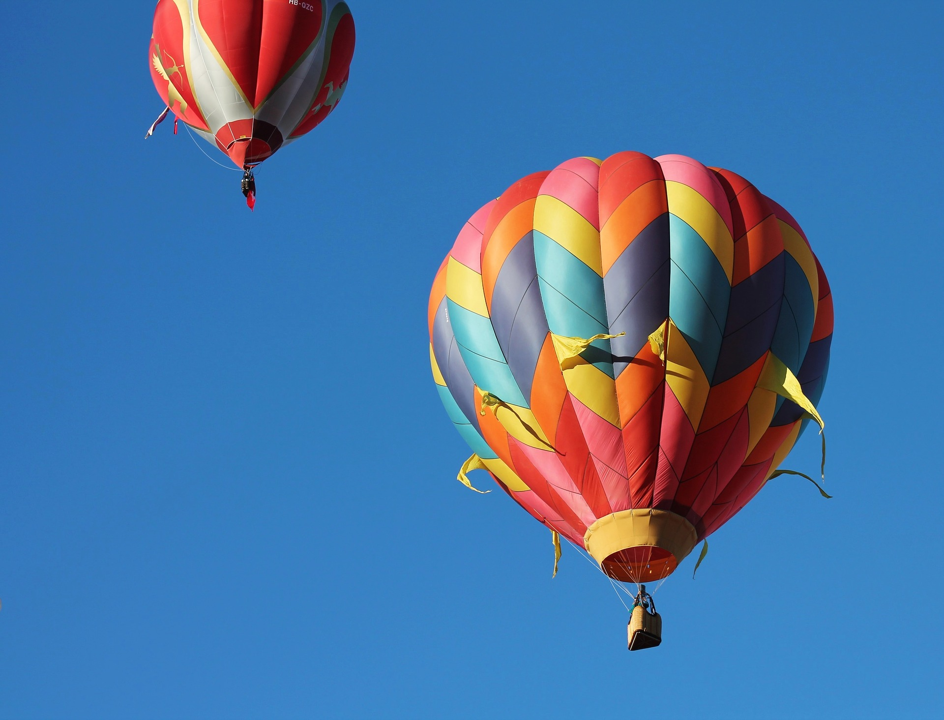 Hot air balloons I Ross and Jamie Adventure